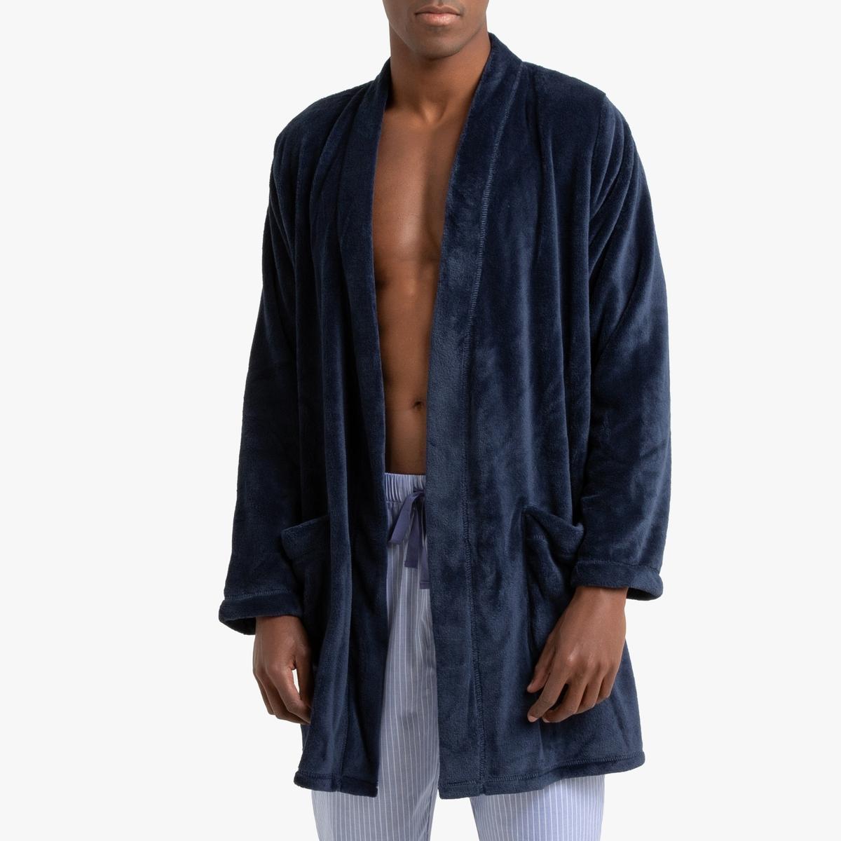 Халат La Redoute Домашний из флиса XL синий халат домашний laete laete mp002xw0fx5r