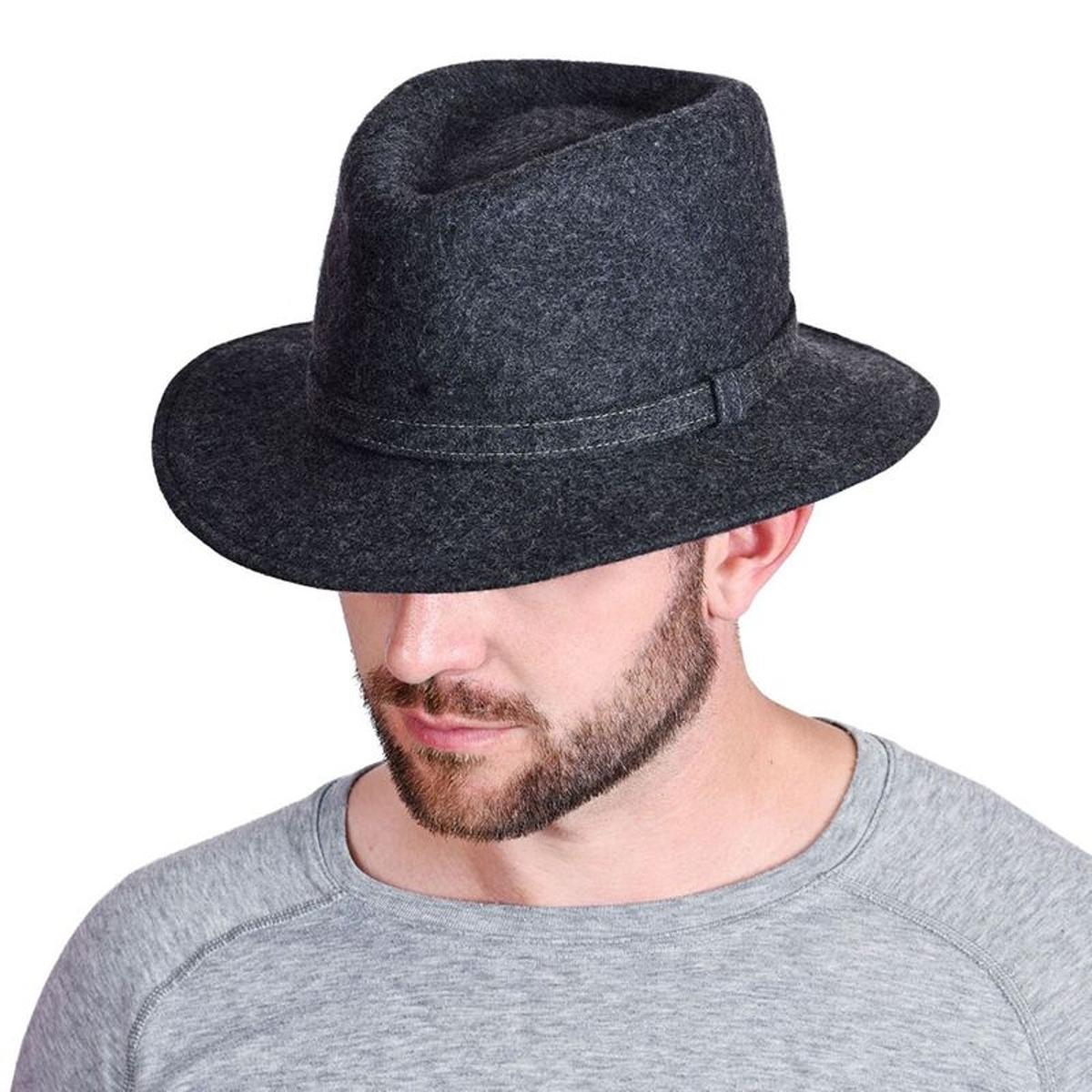 Chapeau borsalino Allan - Fabriqué en europe