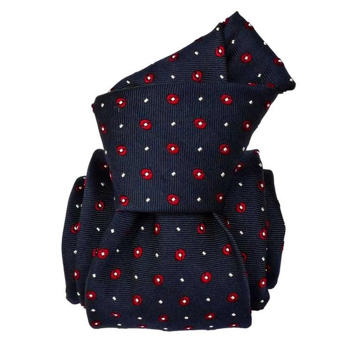 Cravate luxe soie luxe 3 plis