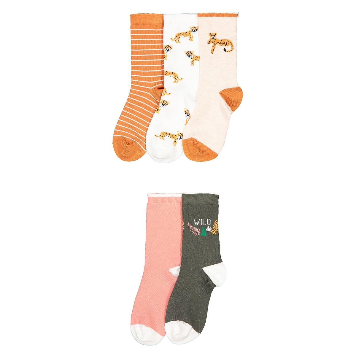 Комплект из 5 пар носков LaRedoute Размеры 2326-3942 35/38 разноцветный