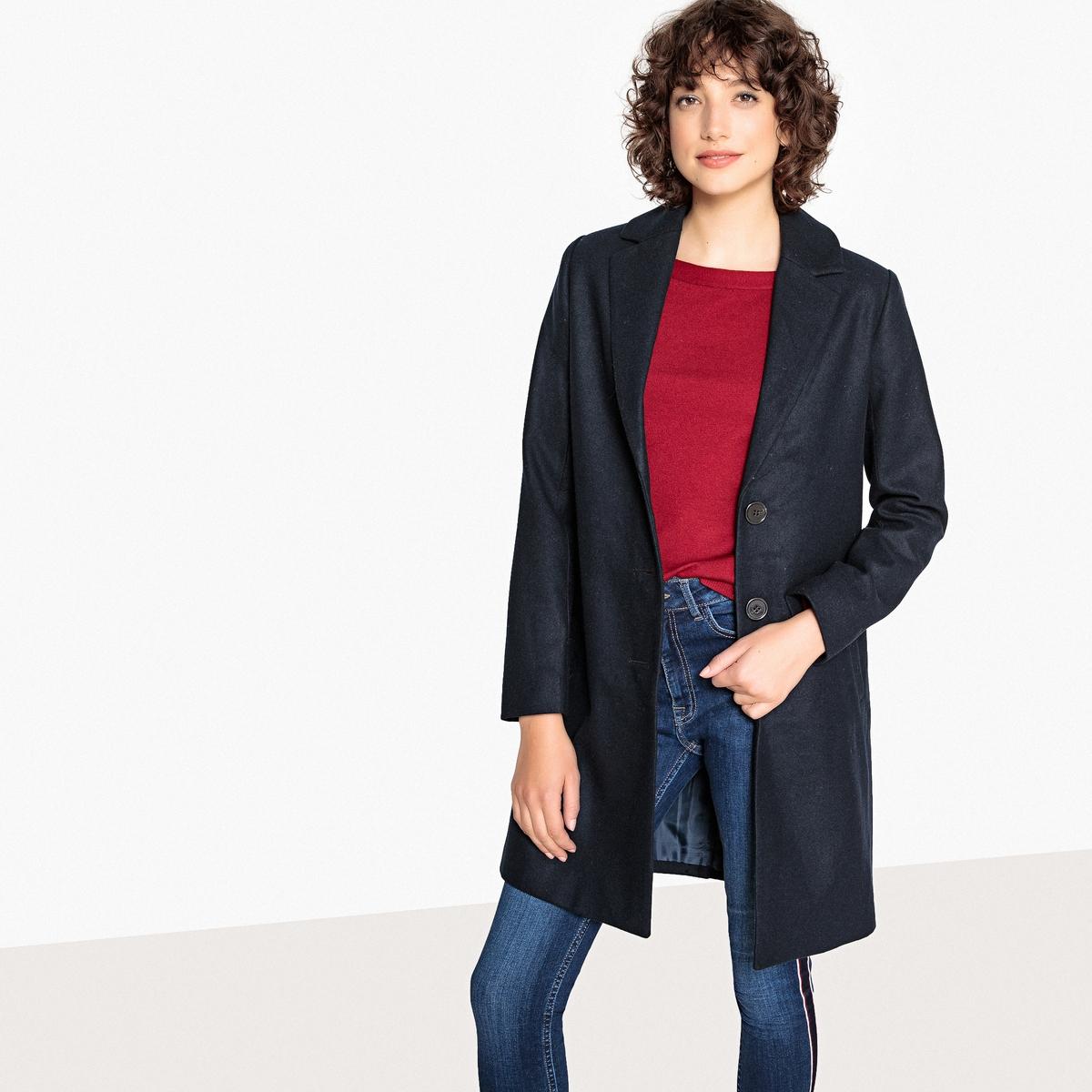 Пальто легкое средней длины
