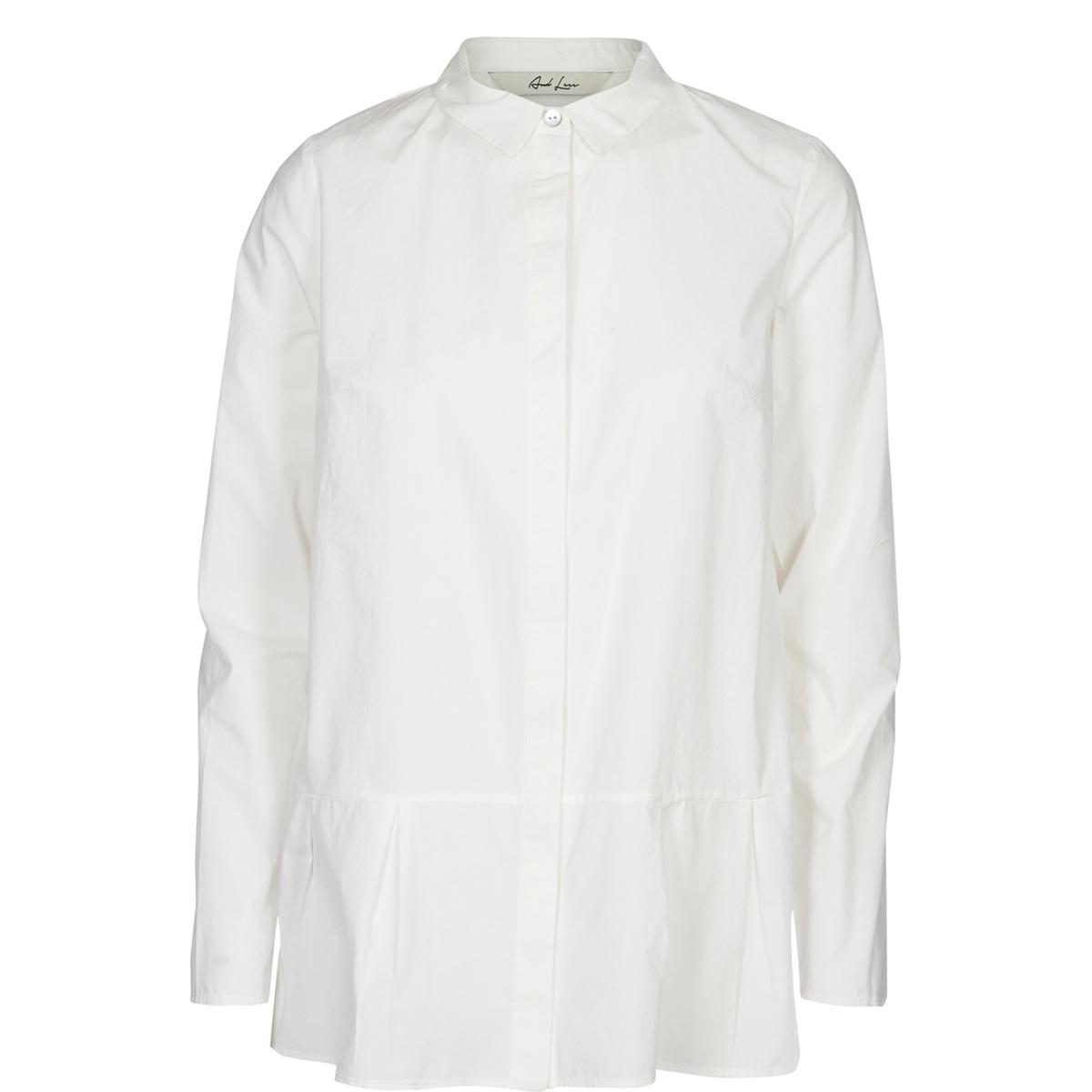 Рубашка ArgenteuilСостав и описаниеМарка : AND LESSМодель : ArgenteuilМатериалы : 100% хлопка.УходСтирка при 30°C с одеждой подобных цветов  Гладить на средней температуре.<br><br>Цвет: белый<br>Размер: 36 (FR) - 42 (RUS)