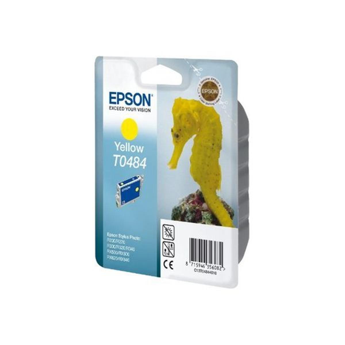 Cartouche d'encre Epson T0484 jaune
