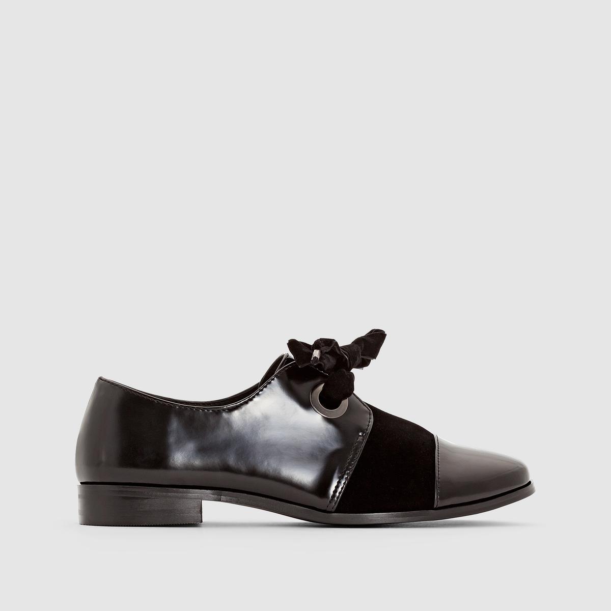 Ботинки-дерби на шнуровке