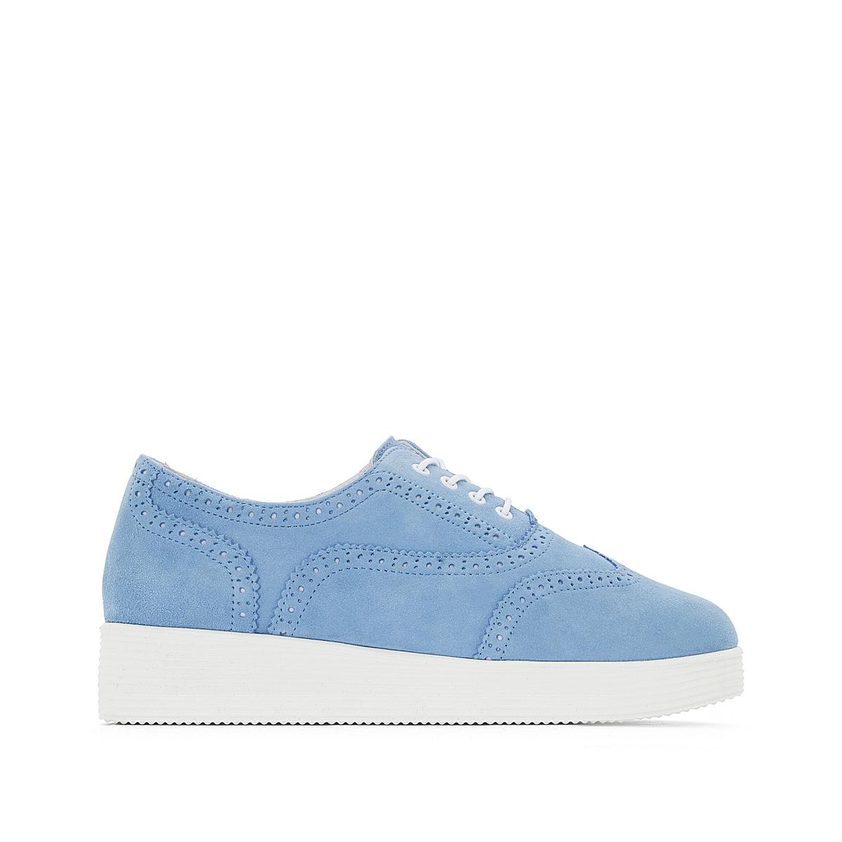 Ботинки-дерби замшевые Darichie ботинки дерби под кожу питона