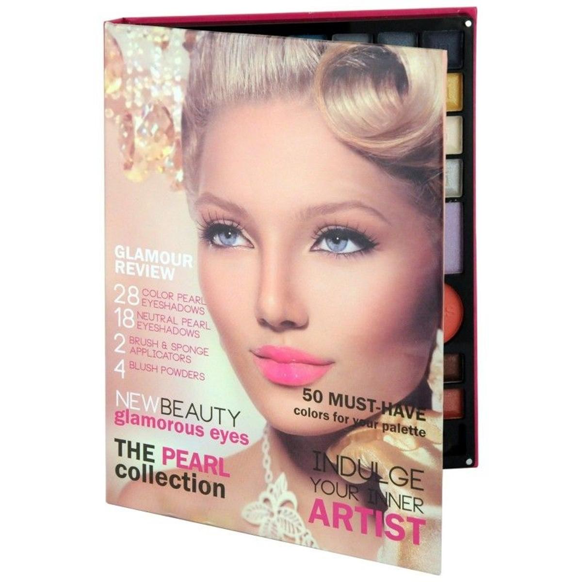Coffret cadeau coffret maquillage palette de maquillage Rose - 54pcs