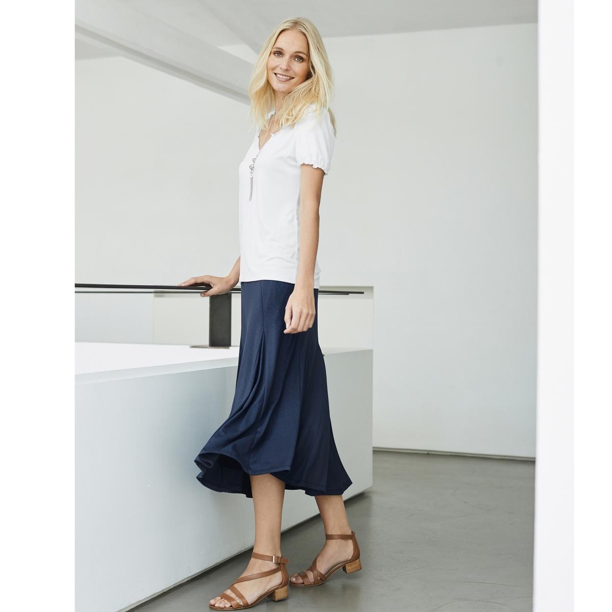 Imagen principal de producto de Camiseta fantasía, tejido vaporoso - Anne weyburn