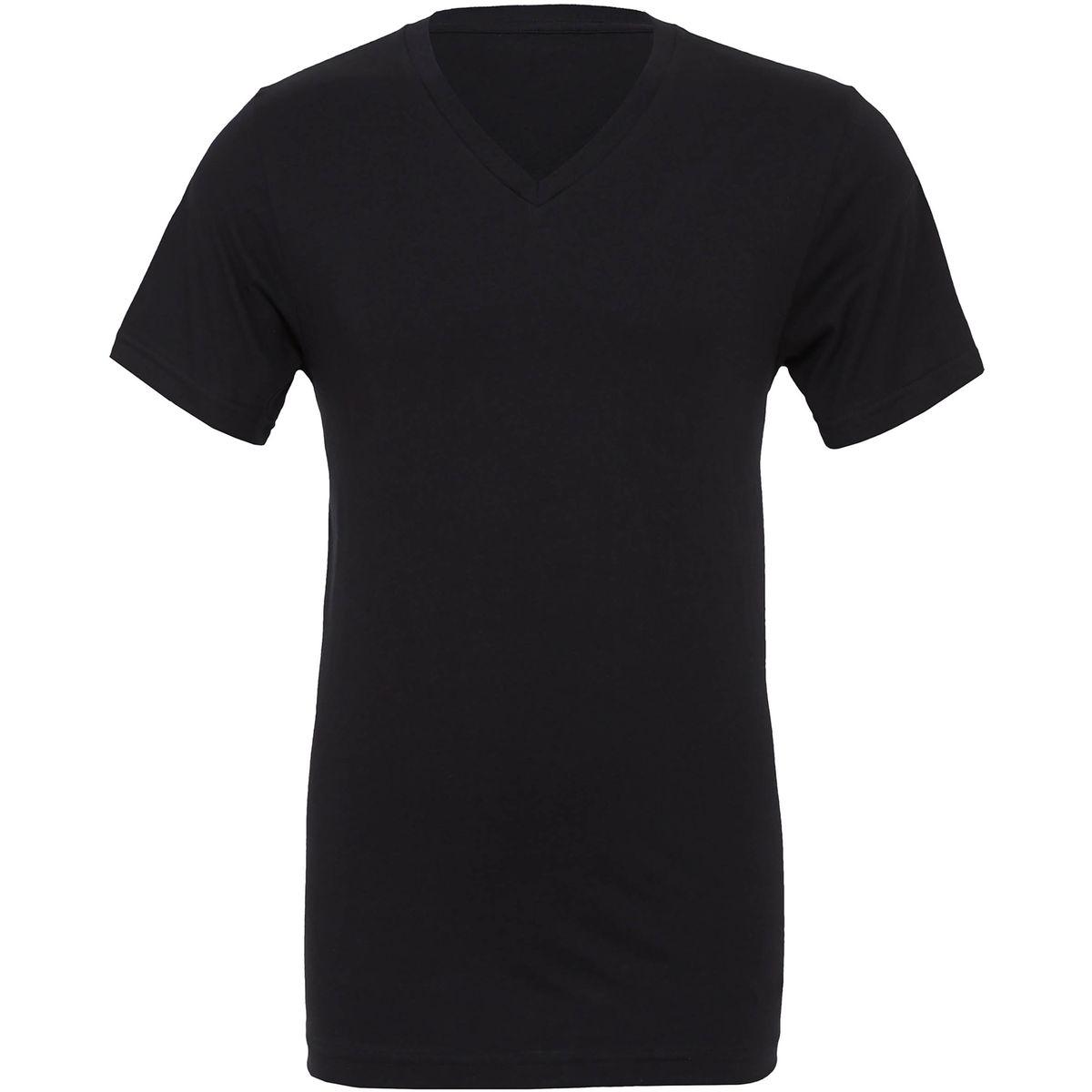 T-shirt homme col V Bella Canvas