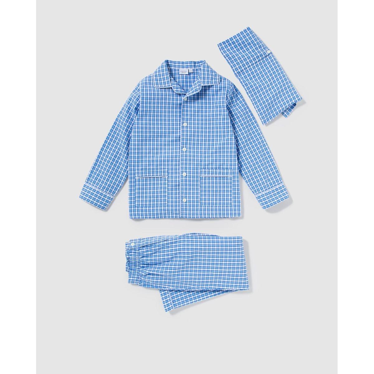Pyjama Cotton Juice imprimé à carreaux