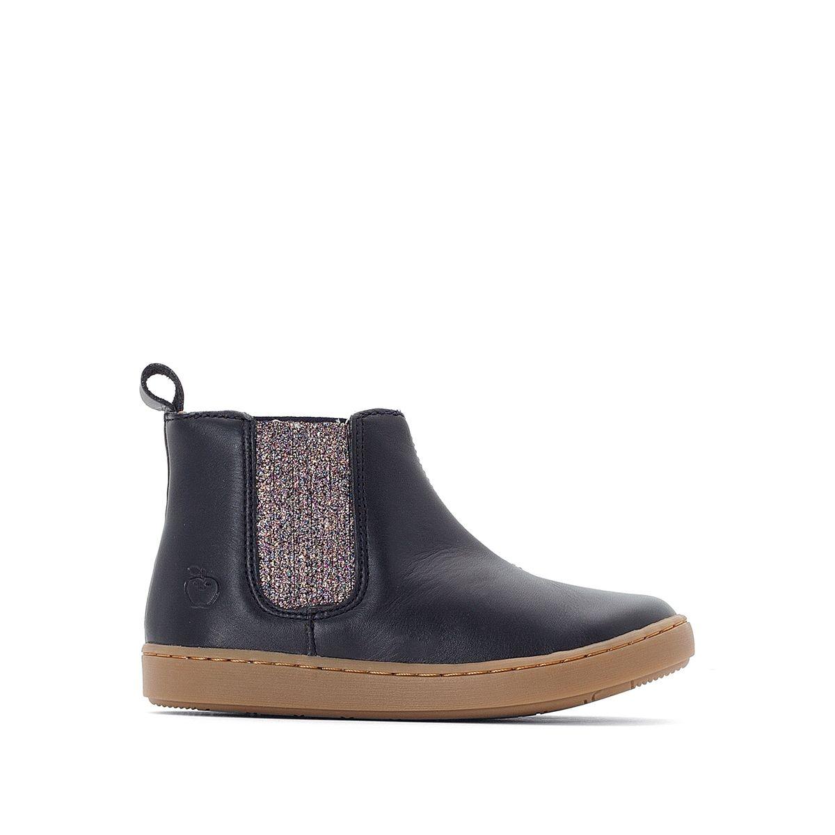 Boots cuir PLAY SHINE ELAST RITA/GLITTER