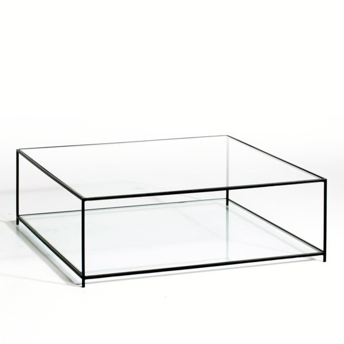 Столик La Redoute Журнальный квадратный Sybil из закаленного стекла единый размер другие