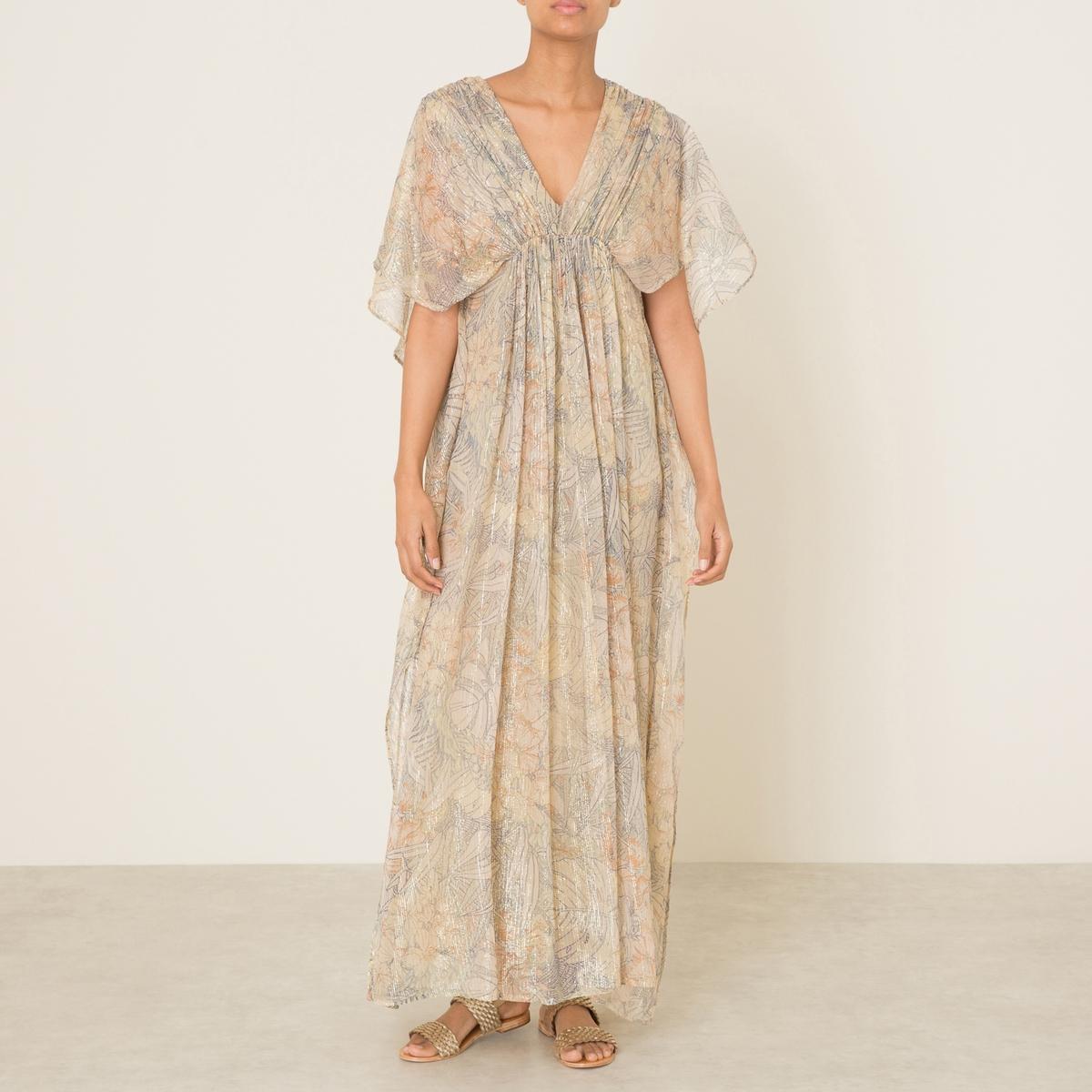 Платье длинное PALMIER платье короткое спереди длинное сзади летнее