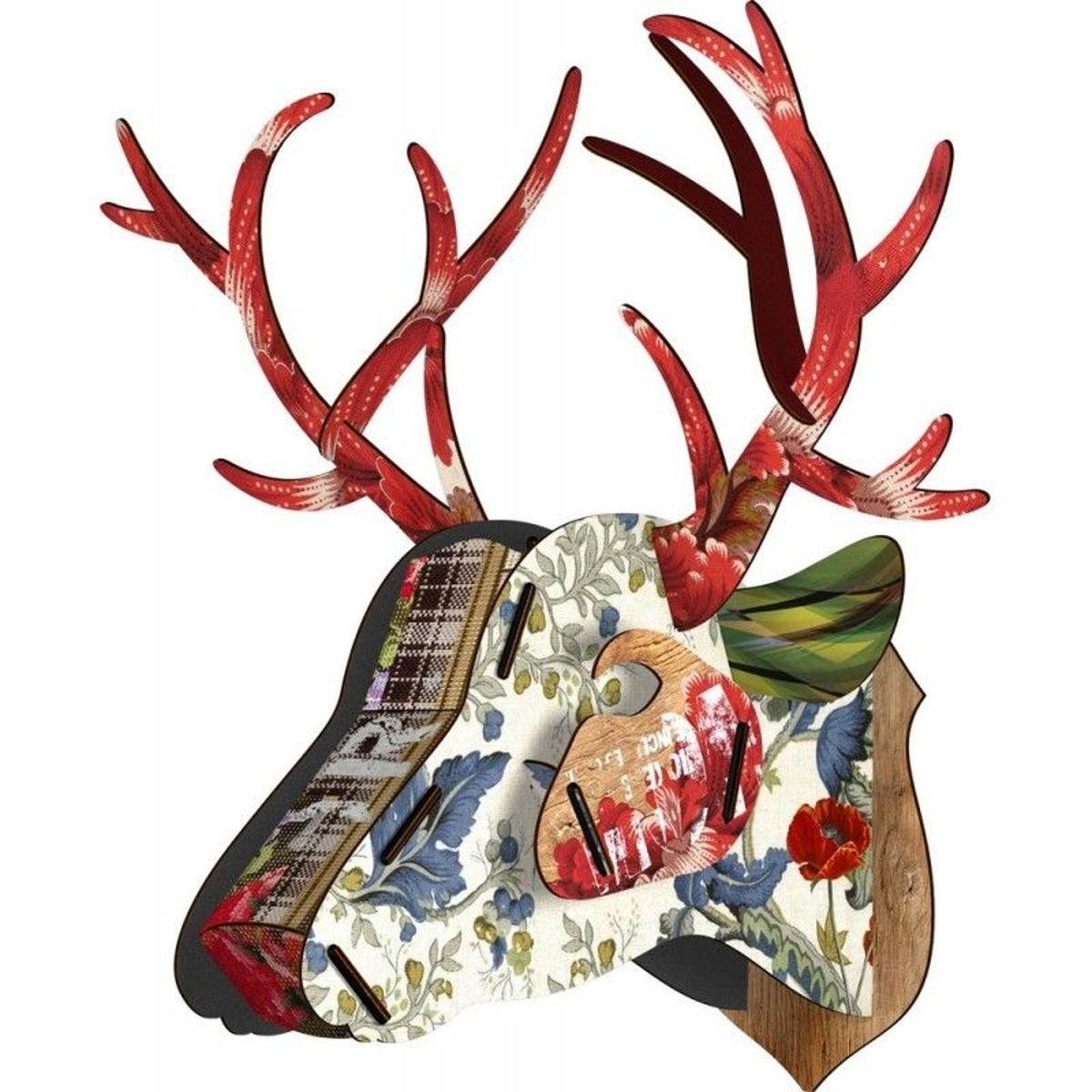 Trophée mural tête de cerf  Unexpected Things Best Friend Big Deer
