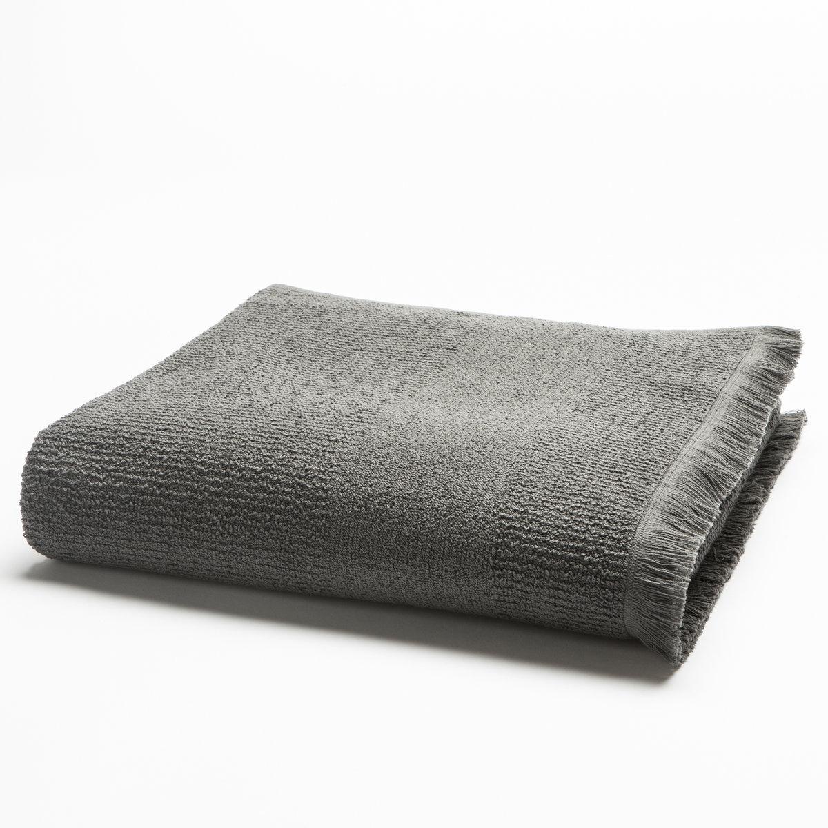 Полотенце банное большое, 500 г/м?Характеристики большого банного полотенца, 500 г/м? :100% хлопка (500 г/м?), отделка байхромой. Материал долго сохраняет мягкость и прочность. Превосходная стойкость цвета при стирке 60°.Машинная сушка.Размеры большого махрового полотенца, 500 г/м? :100 x 150 см.<br><br>Цвет: антрацит