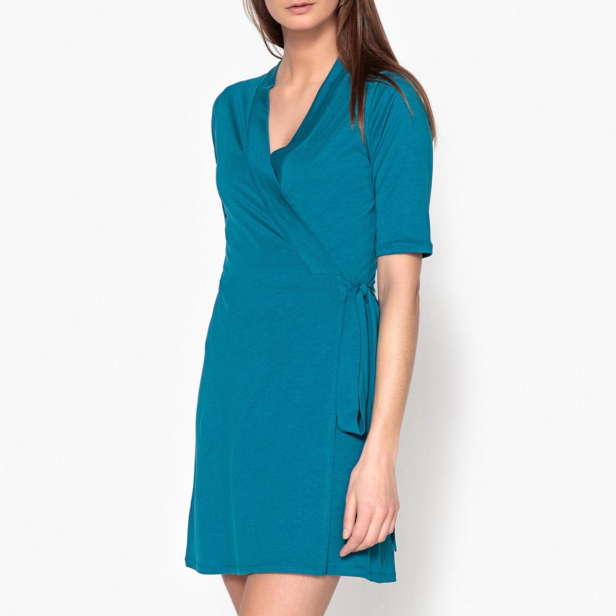 Платье летнее в форме каш-кер с короткими рукавами BERTILLE платье в стиле каш кер