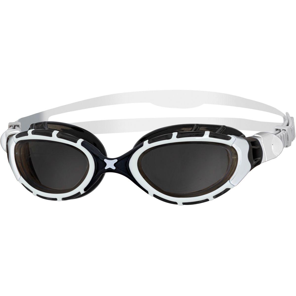 ZOOGS Predator Flex - Lunettes de natation - blanc noir 362a9af50e61