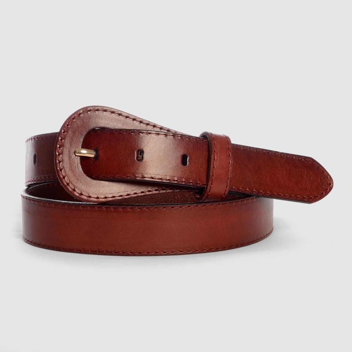 Cinturón de piel estilo vintage