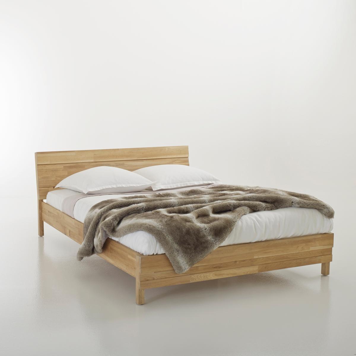 Кровать из массива дуба с соединением встык, Ariles