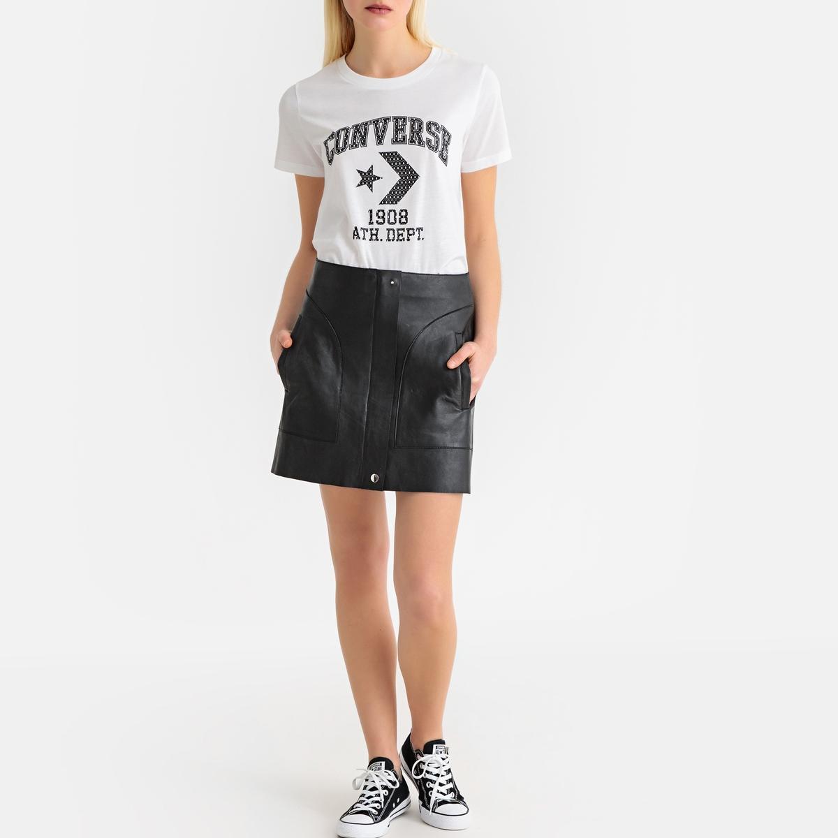 Imagen secundaria de producto de Camiseta Courtside Star Chevron Remix - Converse
