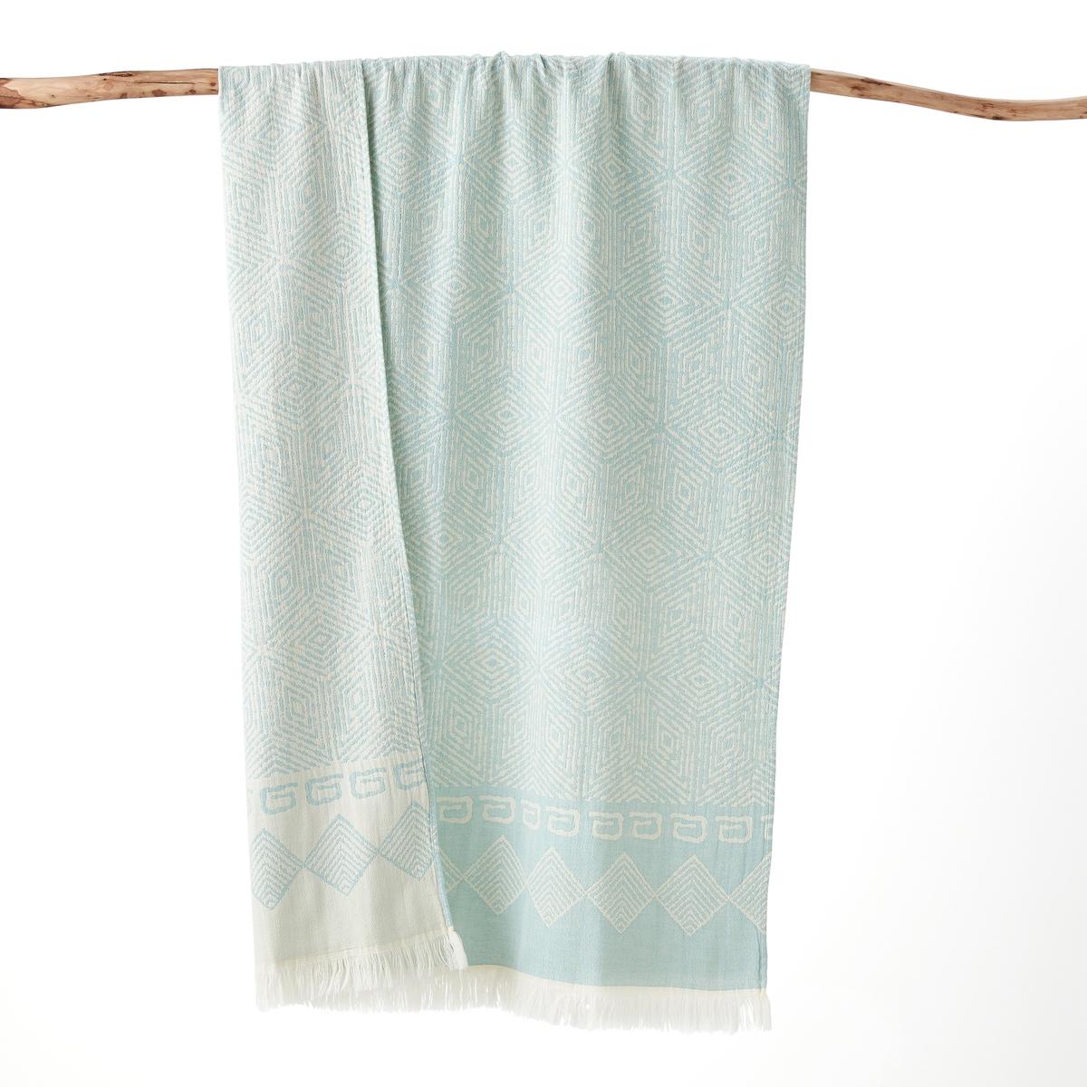 Полотенце La Redoute Пляжное FOSCATI 90 x 170 cm зеленый