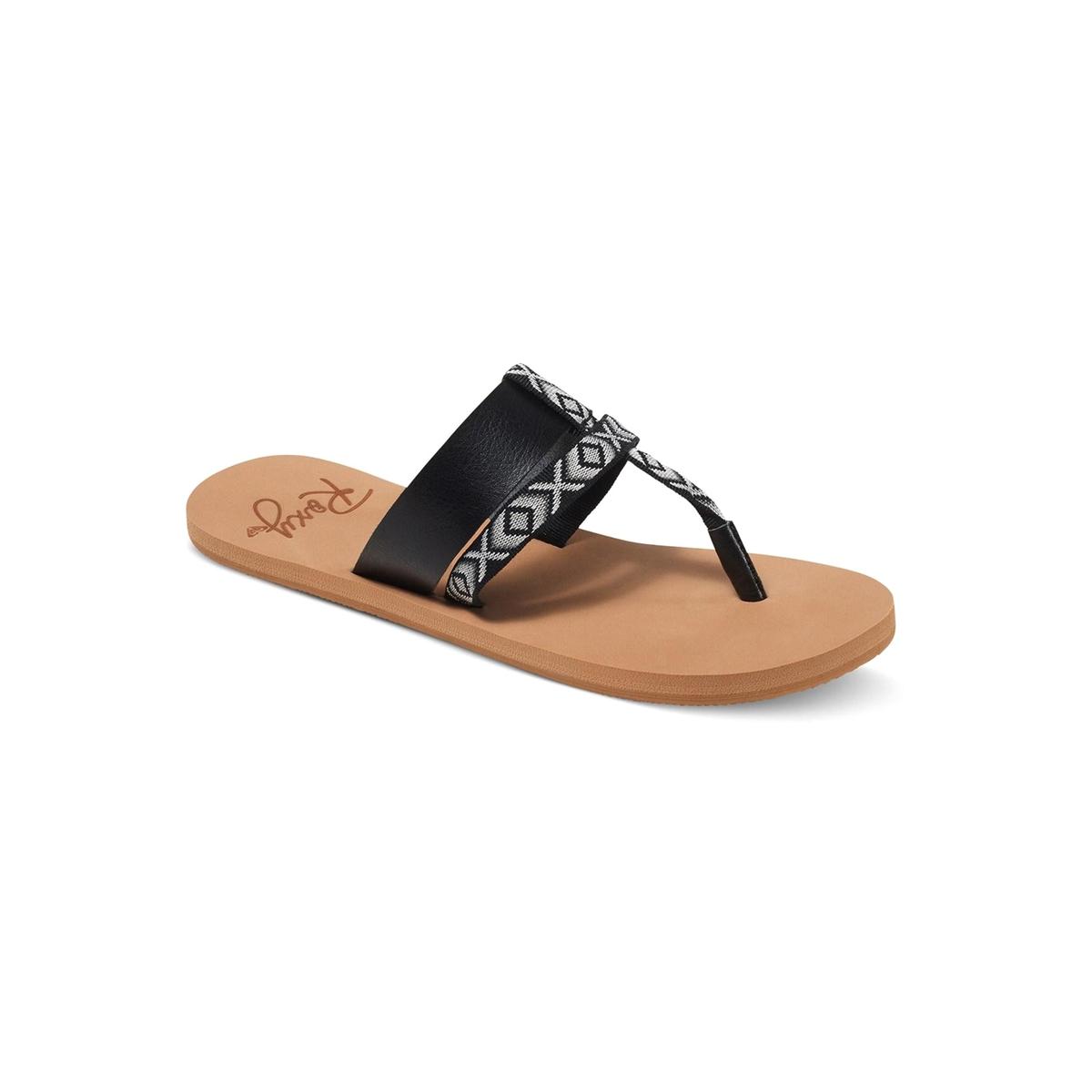 Сандалии KahulaВерх : синтетика   Подошва : каучук   Форма каблука : плоский каблук   Мысок : открытый мысок   Застежка : без застежки<br><br>Цвет: черный<br>Размер: 39