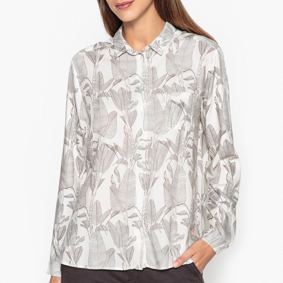 Рубашка с рисунком CÉSARINE рубашка harris wilson harris wilson ha019emjmc63