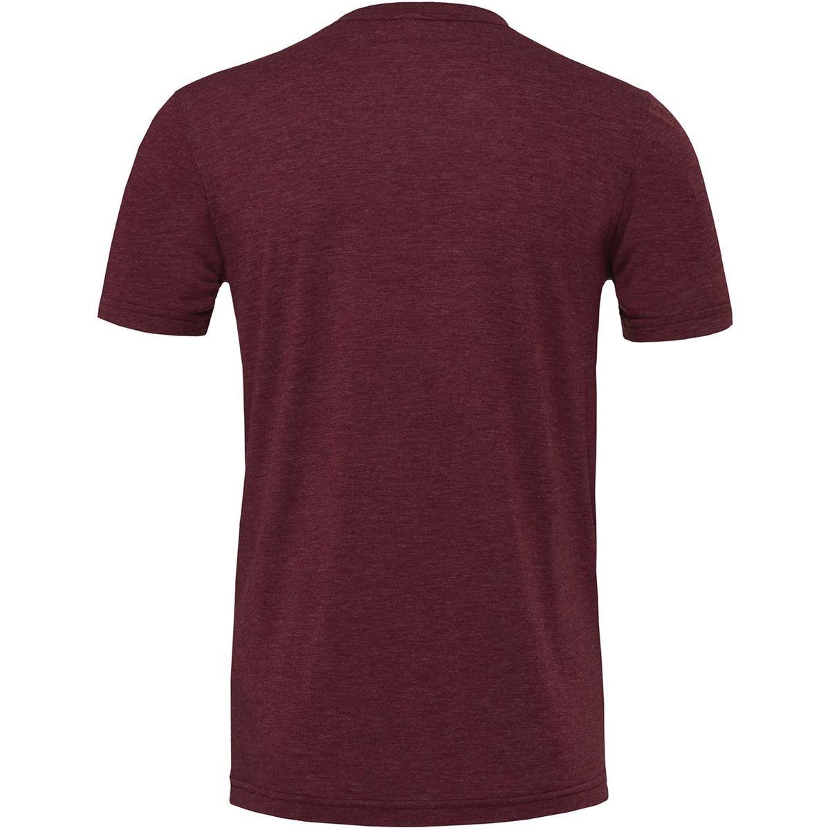 T-shirt manches courtes col rond chiné