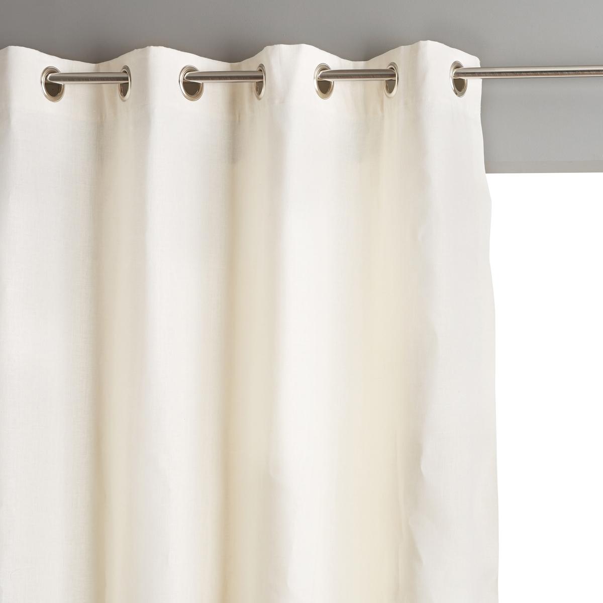 Штора классическая из льна ColinШтора классическая из льна Colin . Штора из натурального 100% льна, мягкого и благородного материала. Она украсит окна в вашем доме в элегантном стиле .Современная штора прекрасно фильтрует солнечный свет  . Предлагается в 6 расцветках и 4 размерах .материал :- 100% льна - Подкладка 100% хлопка Отделка :- Низ подшит.- Серебристые люверсы, ? 4 см .Уход :Стирка при 40°Размер на выбор :Ширина 140 x Высота 180 смШирина 140 x Высота 220 см Ширина 140 x Высота 260 см Ширина 140 x Высота 350 см<br><br>Цвет: антрацит,белый,Пенно-белый,серо-бежевый<br>Размер: 140 x 260  см.140 x 260  см