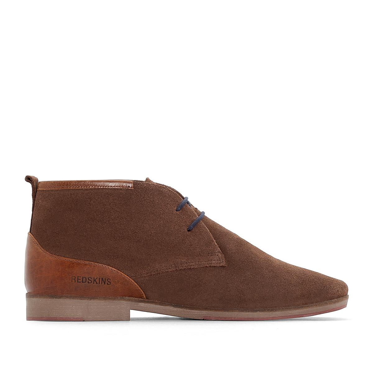 Ботинки-дезерты кожаные TOURNAN