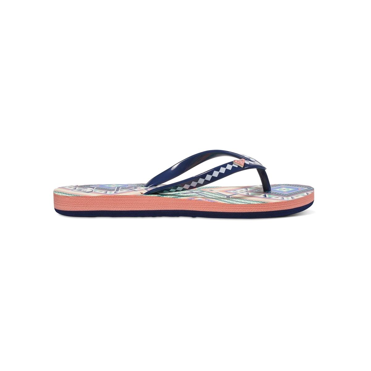 Вьетнамки RG PebblesВерх : синтетика   Подошва : каучук   Форма каблука : плоский каблук   Мысок : открытый мысок   Застежка : без застежки<br><br>Цвет: оранжевый/ черный