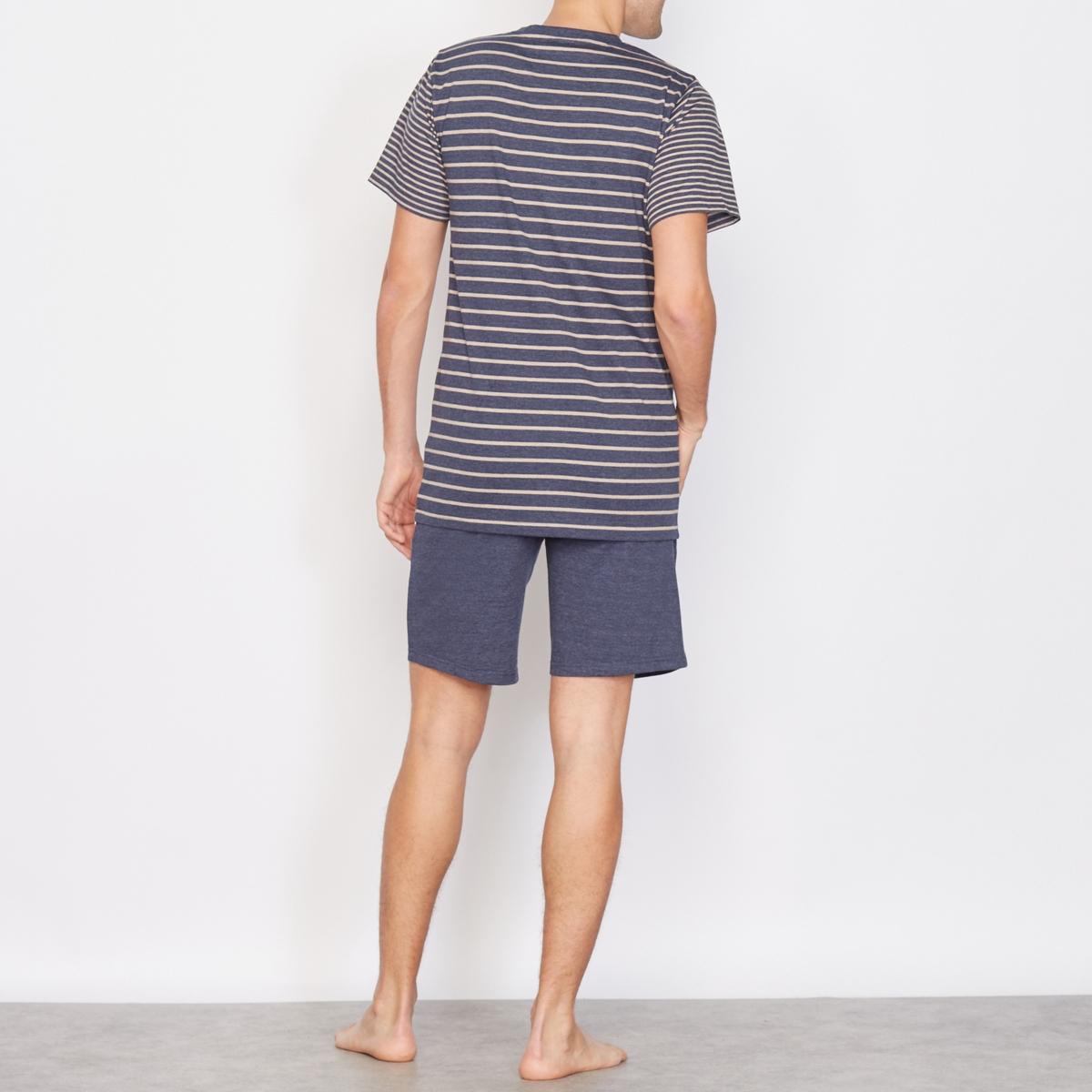 Пижама с шортами от La Redoute Collections