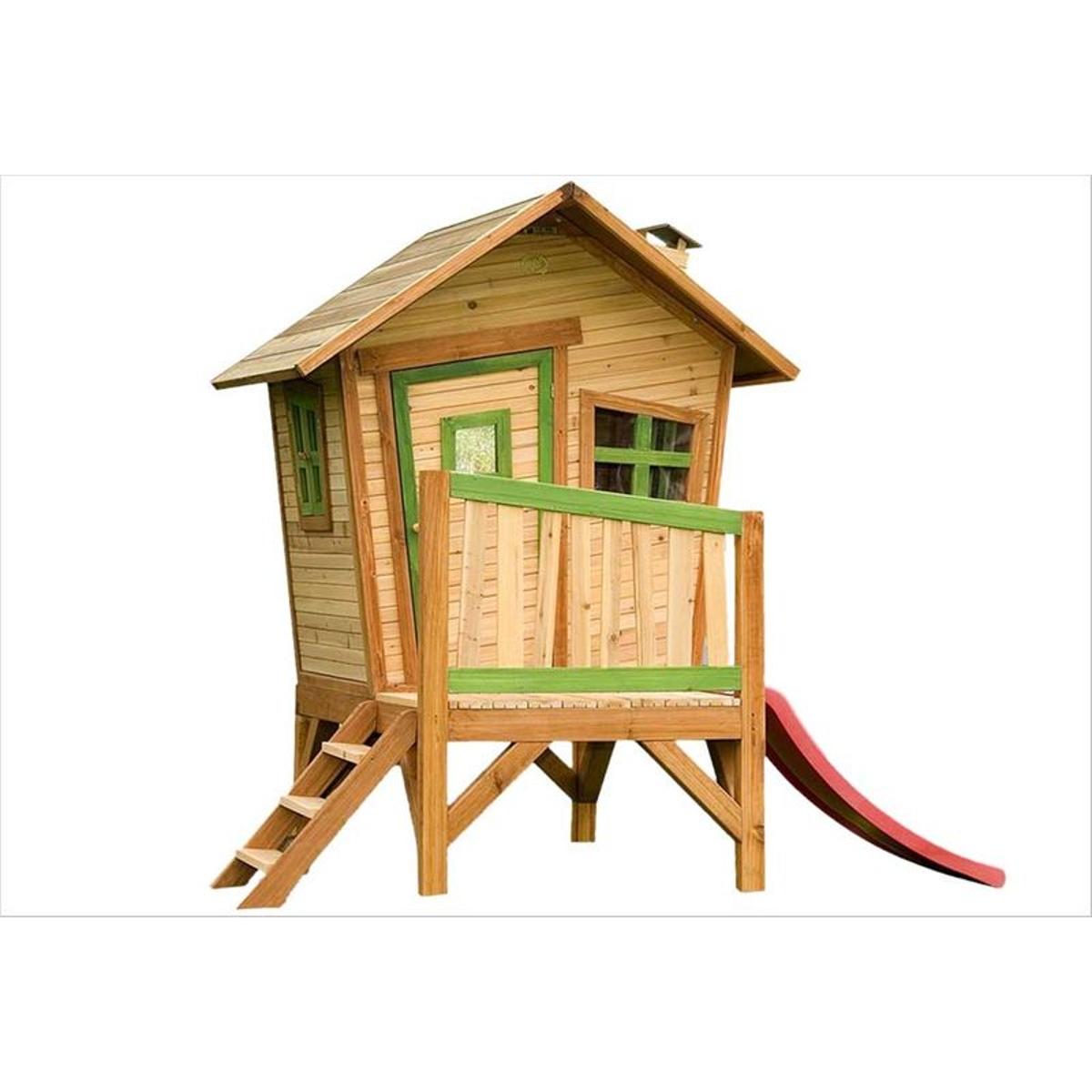 Cabane en bois sur pilotis Robin