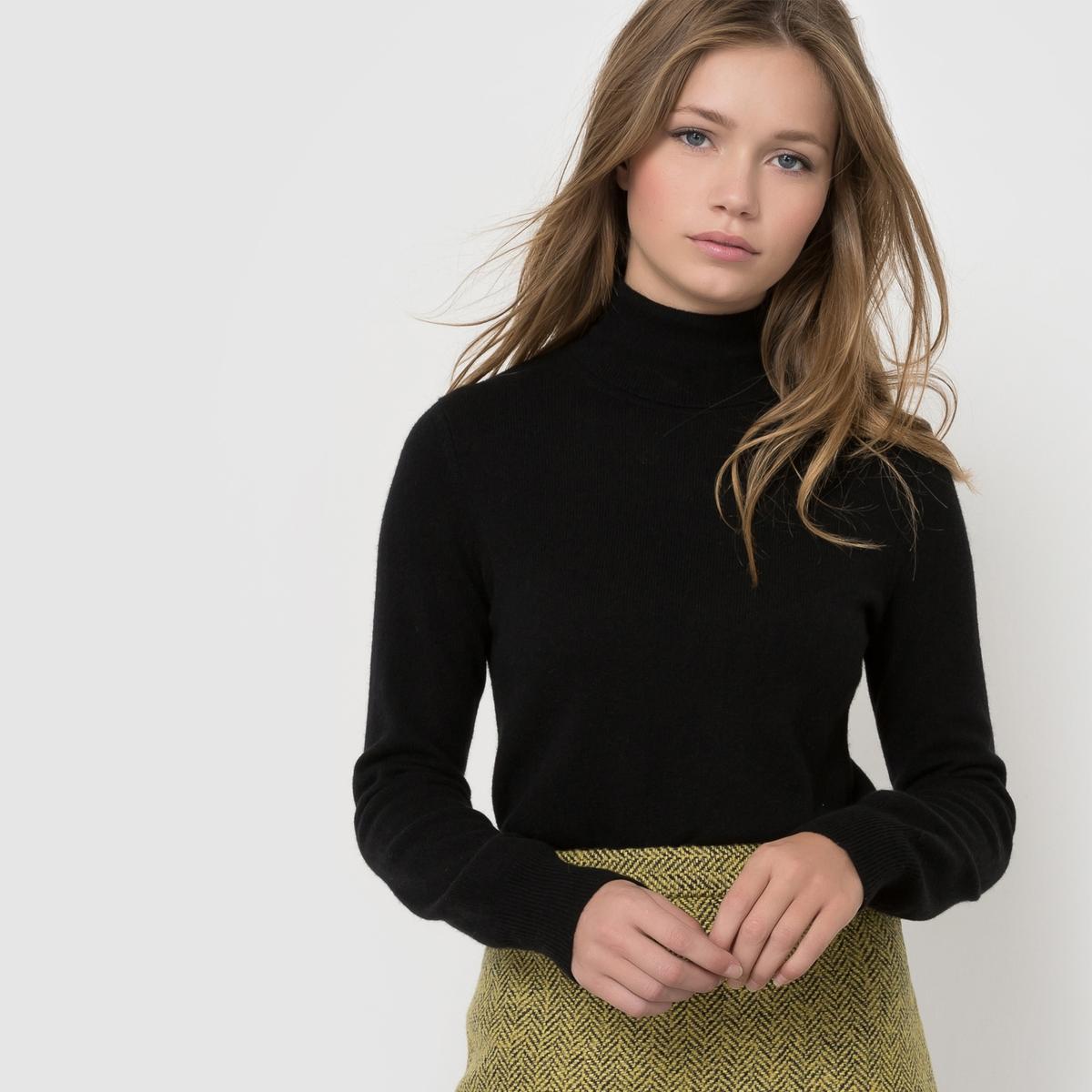 Пуловер с высоким воротником, 100% кашемираПуловер с высоким воротником и длинными рукавами. Края рукавов и низа связаны в рубчик. Джерси, 100% кашемира. Длина 64 см.<br><br>Цвет: серый меланж,темно-синий,черный<br>Размер: 42/44 (FR) - 48/50 (RUS).42/44 (FR) - 48/50 (RUS).46/48 (FR) - 52/54 (RUS).34/36 (FR) - 40/42 (RUS).42/44 (FR) - 48/50 (RUS).50/52 (FR) - 56/58 (RUS).38/40 (FR) - 44/46 (RUS).46/48 (FR) - 52/54 (RUS)
