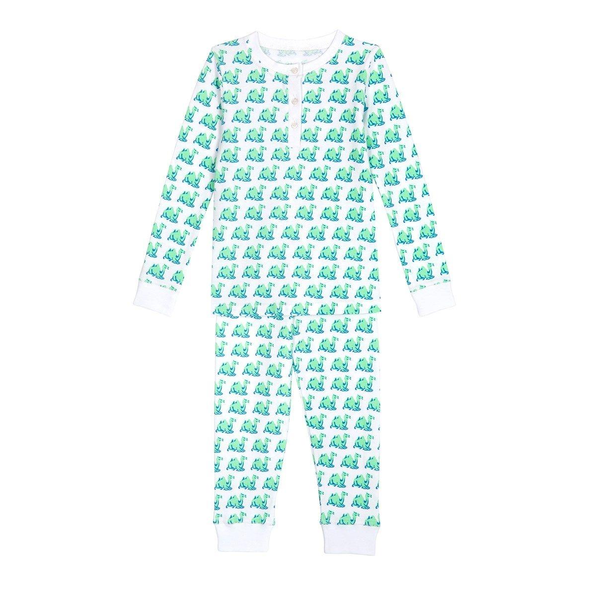 Pyjama enfant en coton bio - Imprimé Chameau