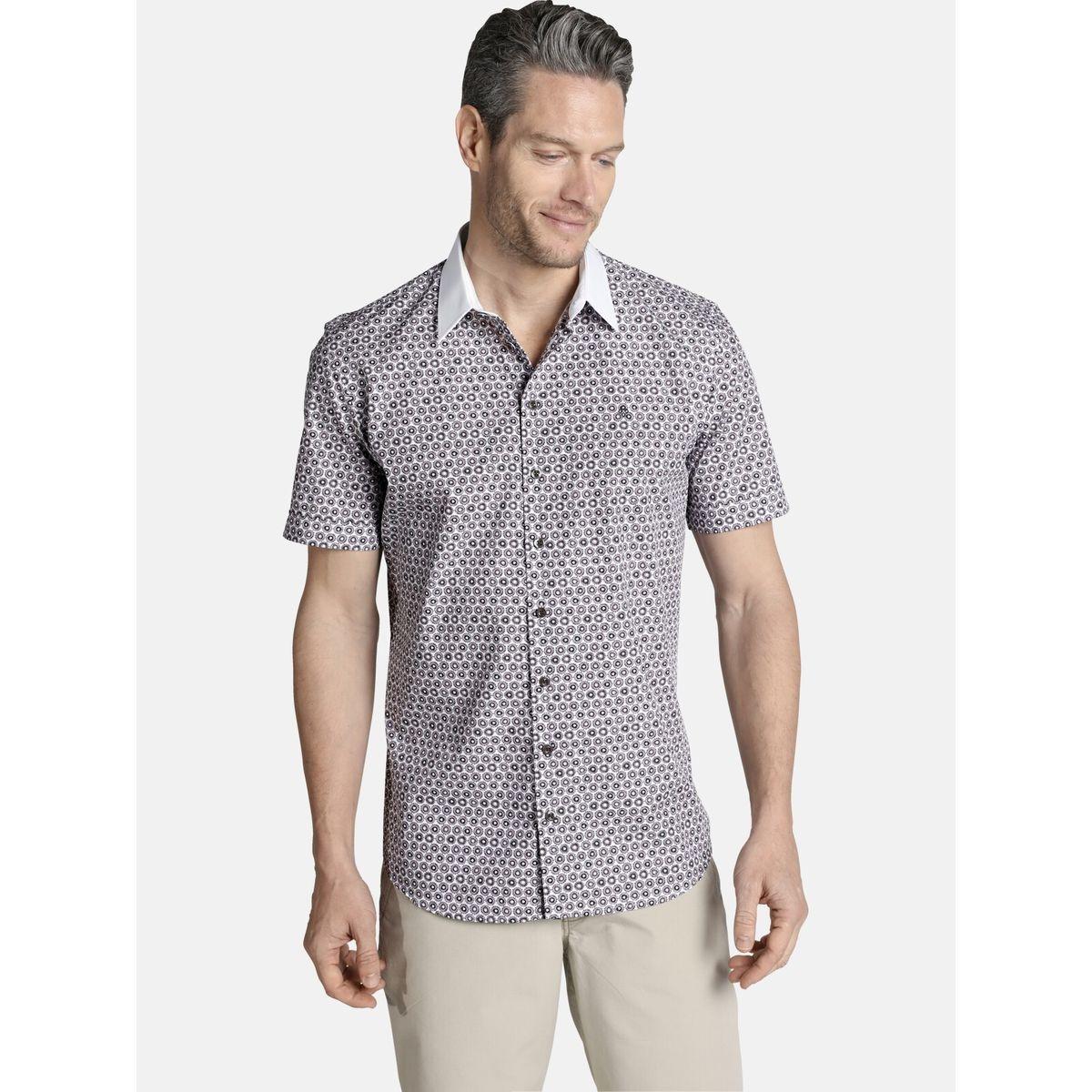 Chemise à manches courtes GAWAIN