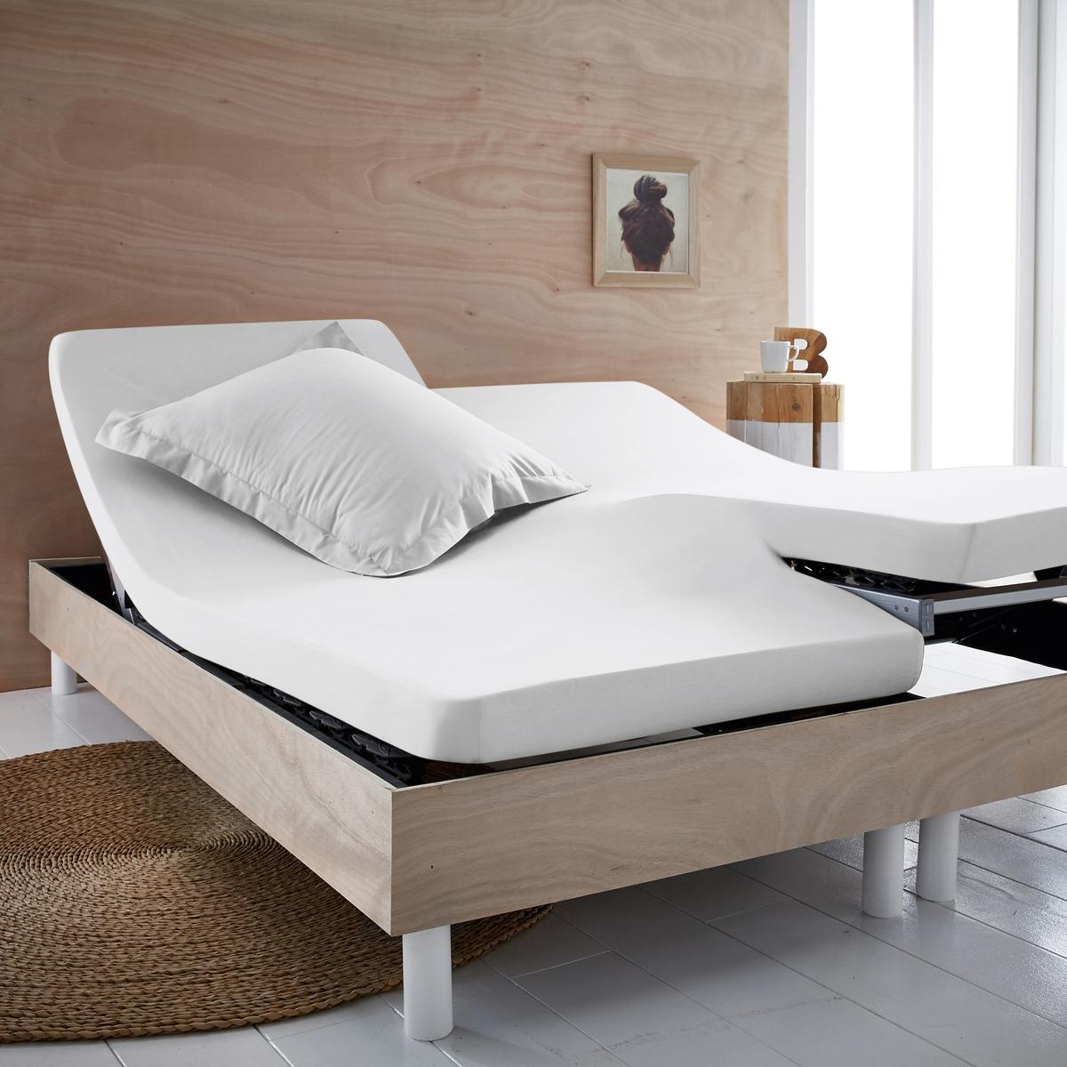 Простыня натяжная из джерси из 100% хлопка для раздвижной кровати