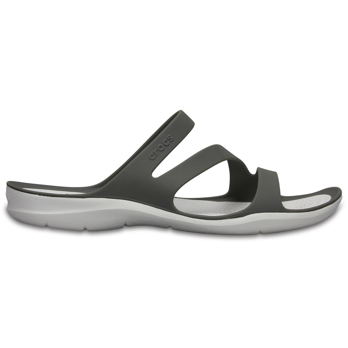 Туфли без задника Swiftwater Sandal WВерх : термопластик   Подкладка : без подкладки   Стелька : термопластик   Подошва : полимер Croslite   Застежка : без застежки<br><br>Цвет: серый<br>Размер: 36/37