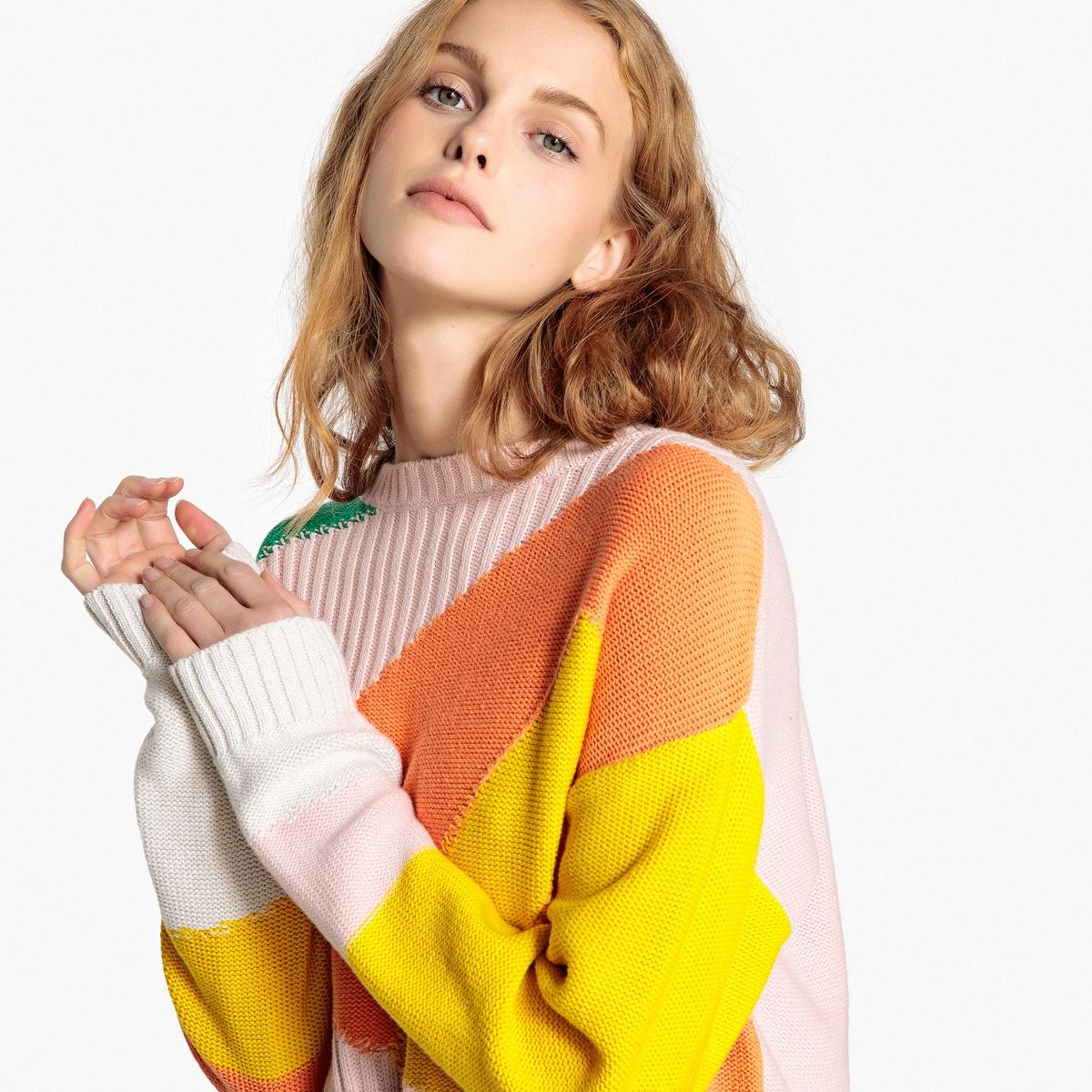 Пуловер  - Разноцветный цвет