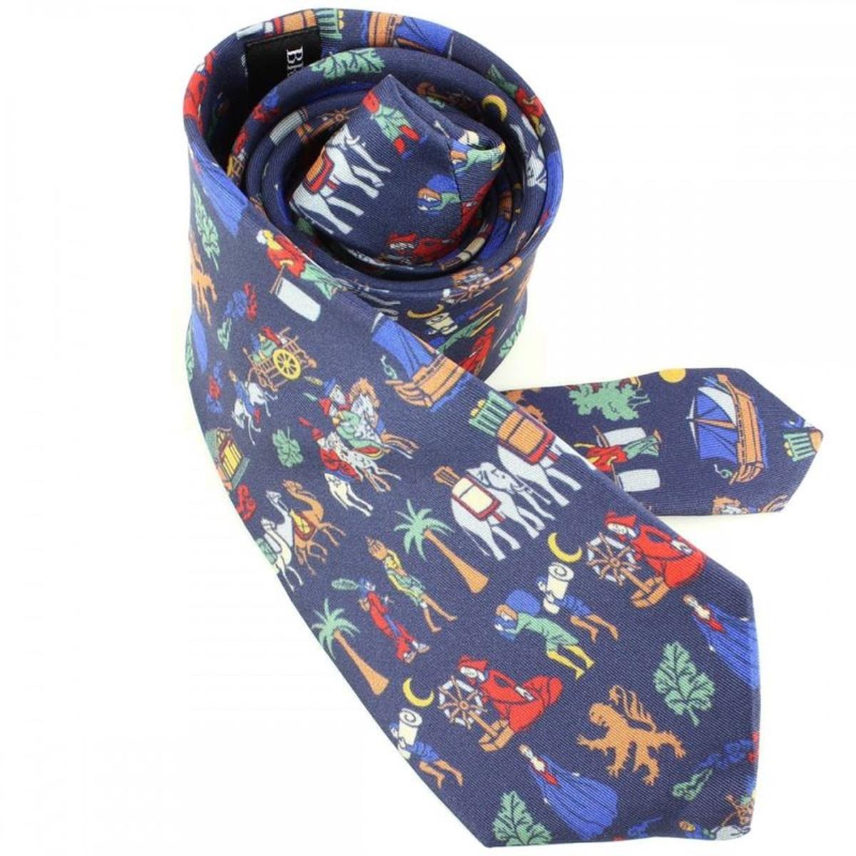 Cravate luxe soie route de la soie, Made in France