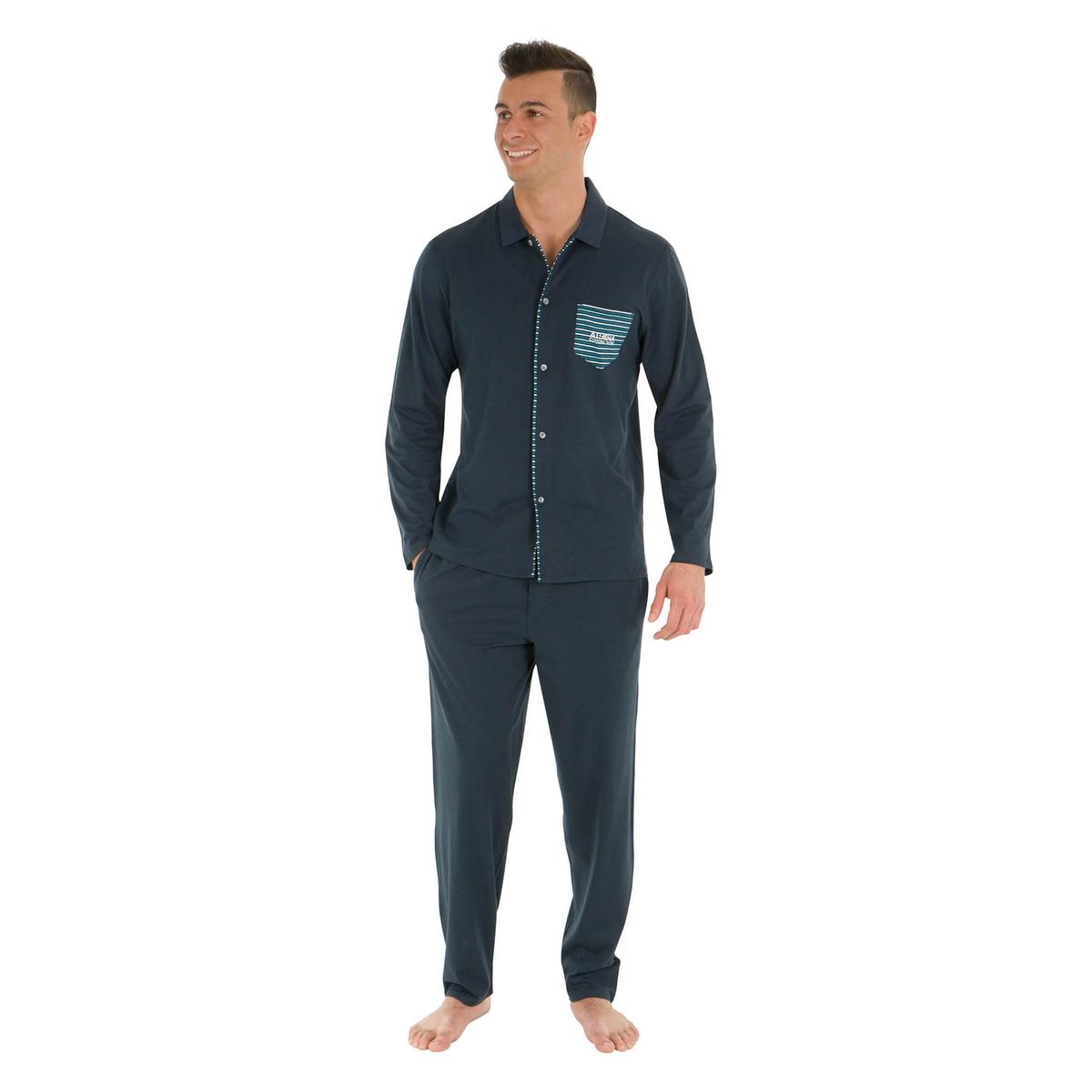 купить Пижама длинная из хлопка по цене 3849 рублей
