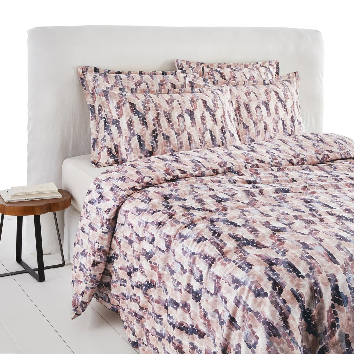 Пододеяльник La Redoute С рисунком из перкали из биохлопка Kalinda 240 x 220 см розовый босоножки marco bonne marco bonne mp002xw1in82