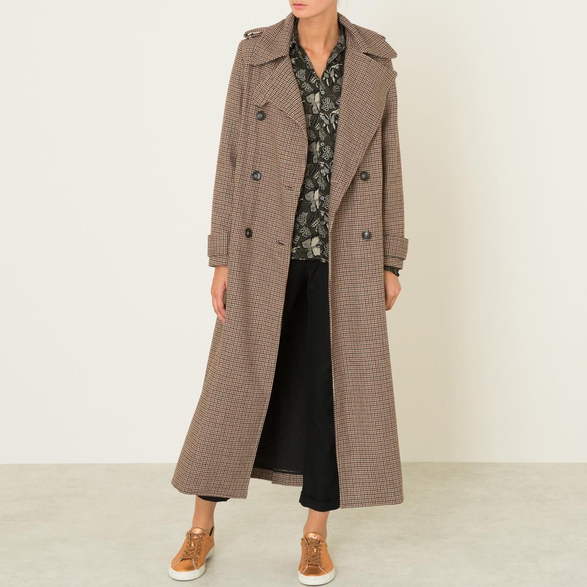 Пальто длинное CLYDE
