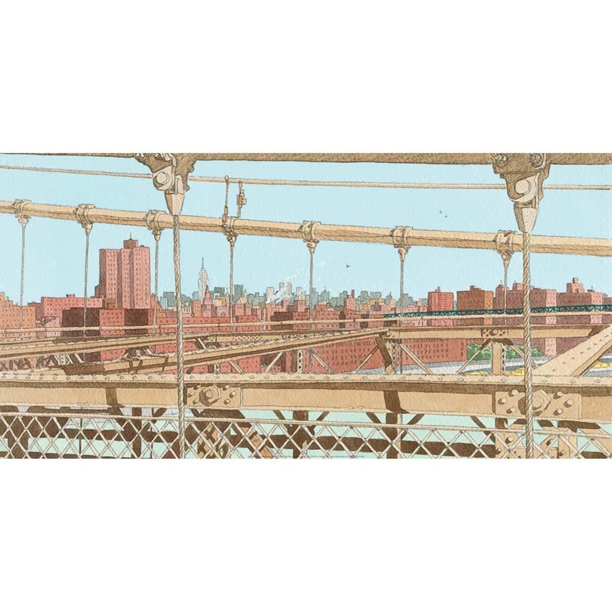 Affiche Brooklyn Bridge