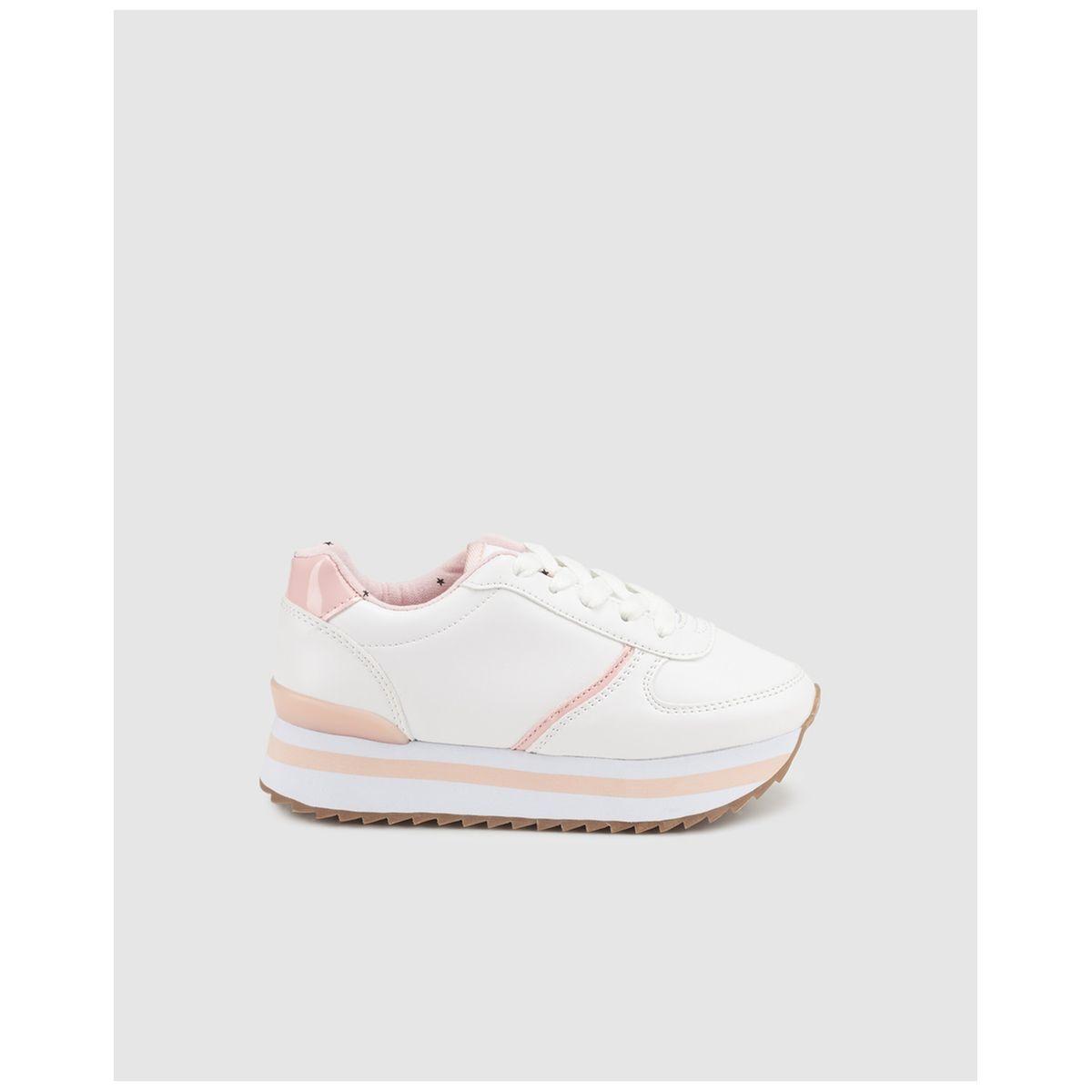 Chaussures sport  à plateforme /