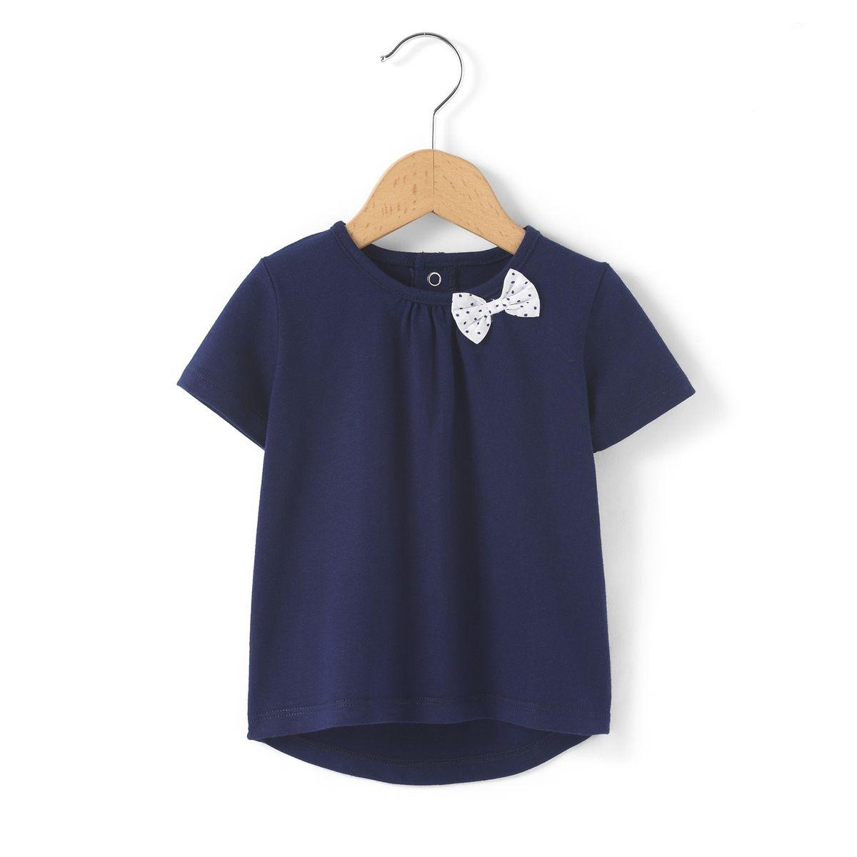 T-shirt détail noeud 1 mois-3 ans