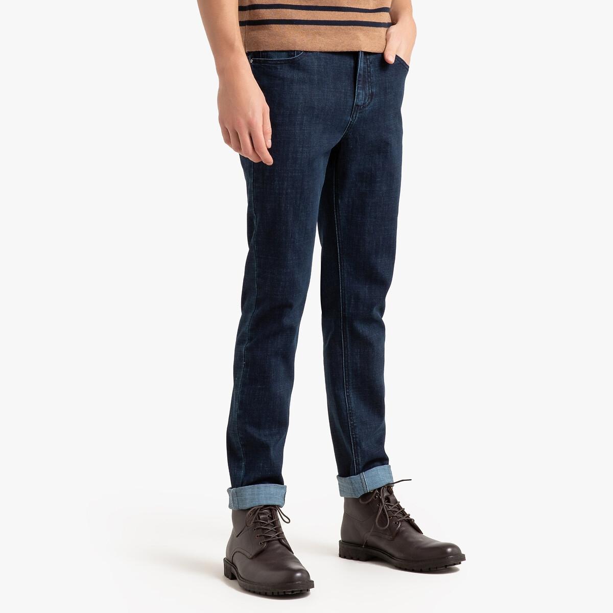 Jeans regular em Coolmax
