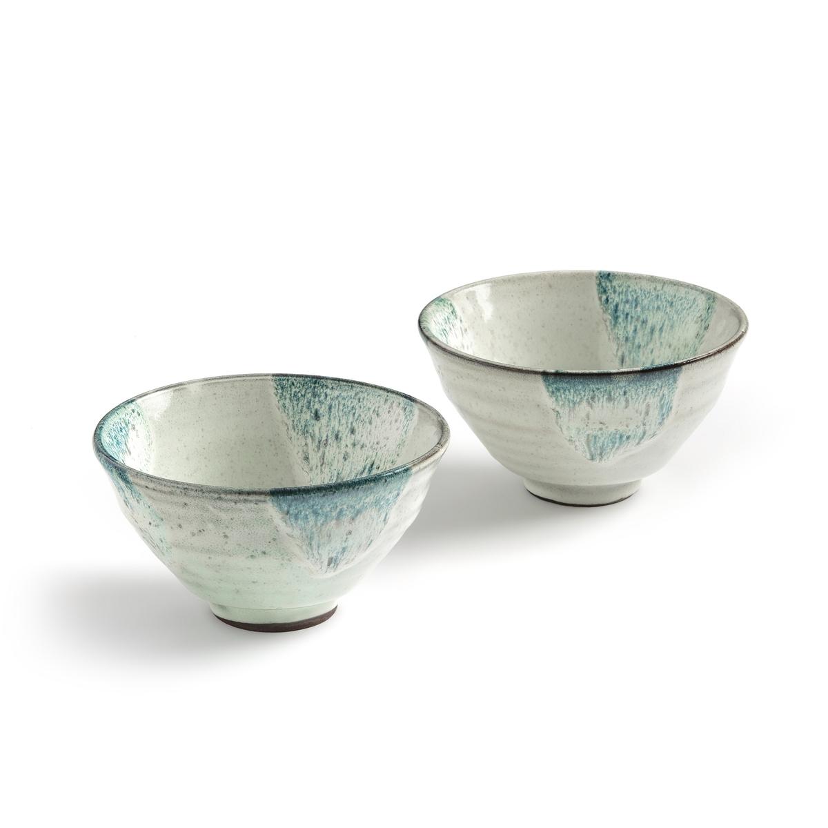 2 чайные чашки из керамики, Trabina2 чашки Trabina. Чайные чашки в восточном стиле, которые можно использовать также для подачи аперитива или десерта . Отделка с отражающим эффектом придает им нотку аутентичности и шарма .Характеристики : - Из эмалированной керамики с отражающим эффектом, рисунок может отличаться от изделия к изделию - Можно использовать в посудомоечных машинах и микроволновых печах- Продаются в черном сундучке Размеры :- ?14 x H7,5 см<br><br>Цвет: белый<br>Размер: единый размер
