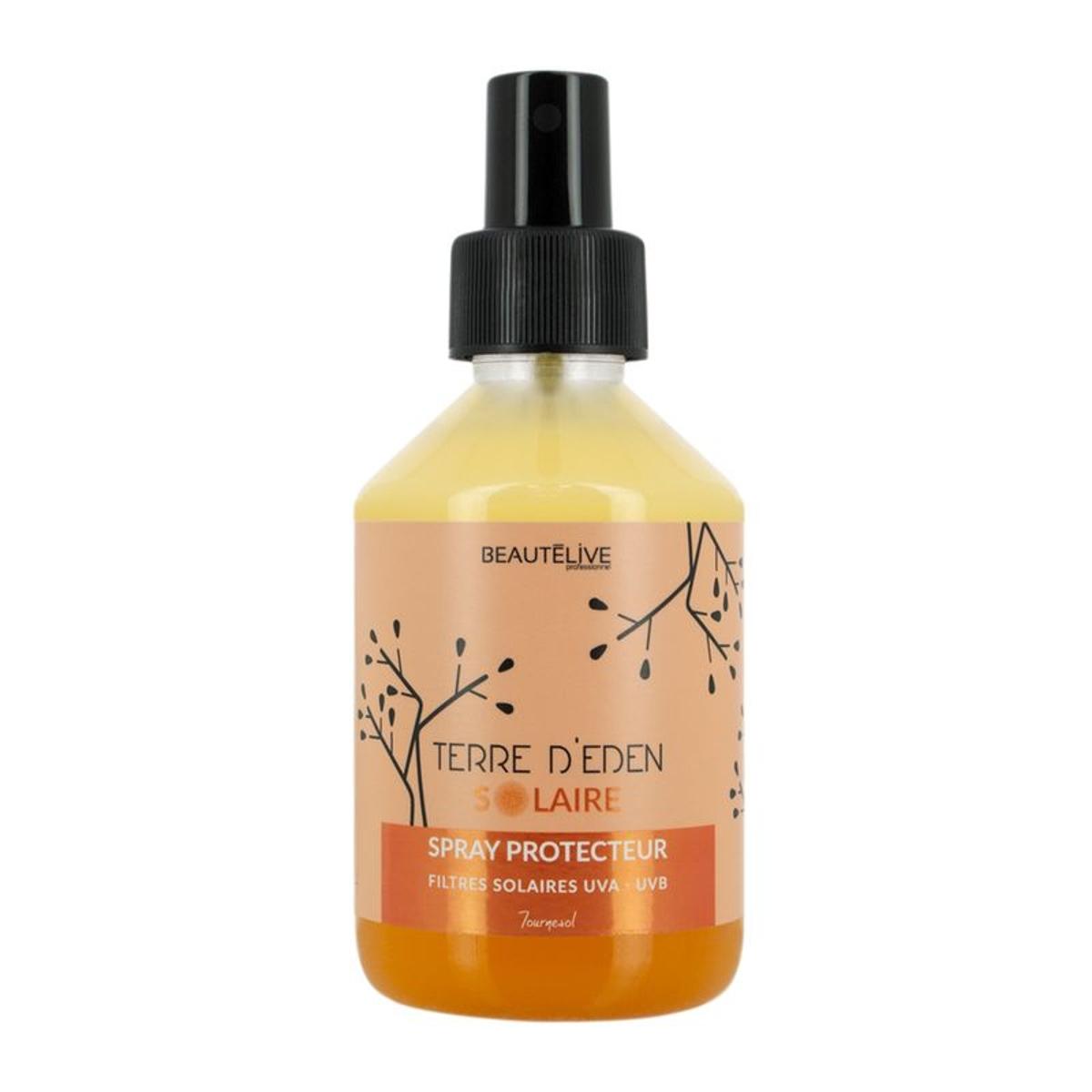 Spray biphase protecteur solaire