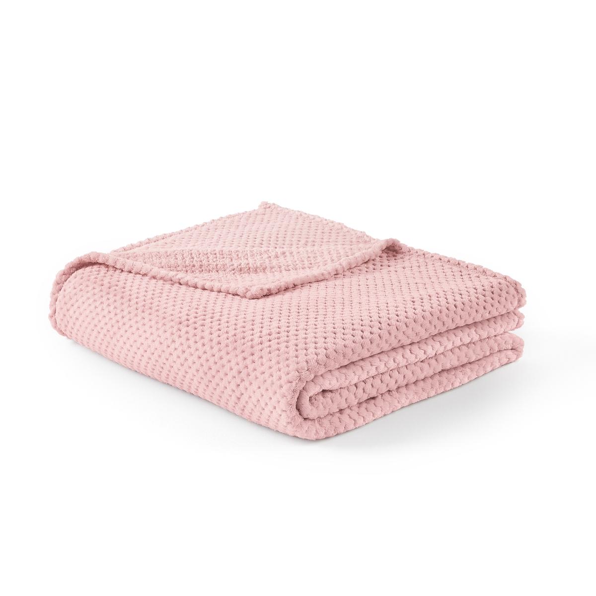 цена Покрывало La Redoute PUNTOS 240 x 220 см розовый онлайн в 2017 году