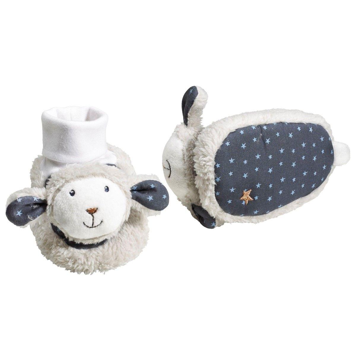 Chaussons Bébé Mouton Merlin 0-6 mois SAUTHON